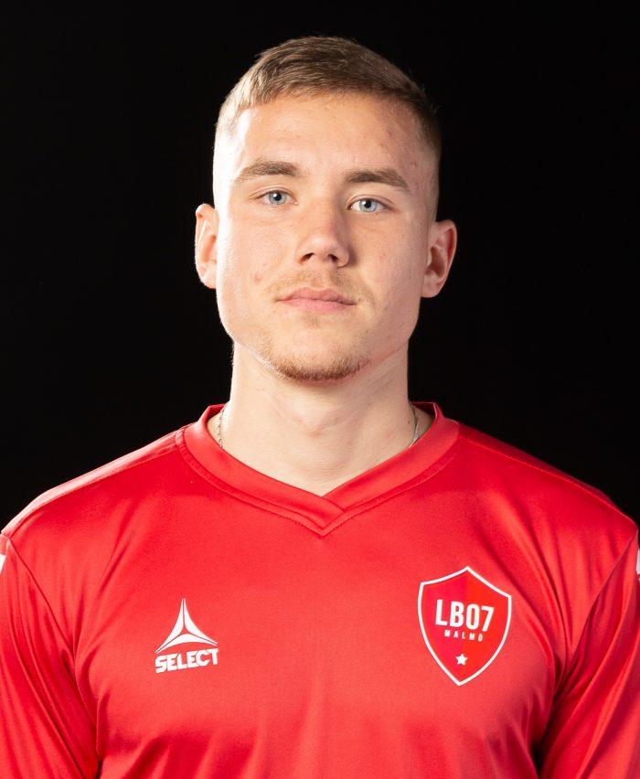 Anton Reutersköld, målskytt i sin debut.